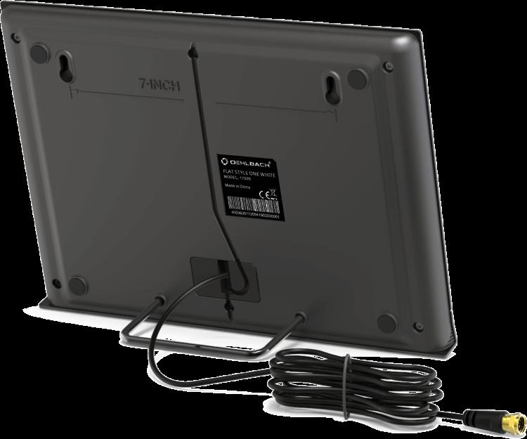 Oehlbach Flat Style One Εσωτερική Kεραία για DVB-T2 Μαύρο