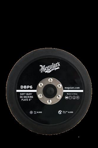 "Meguiar's Soft Buff™ DA Backing Plate 6"" (152 mm)  DBP6"
