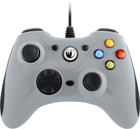 Nacon Ενσύρματο Gaming Χειριστήριο PC PCGC-100GREY Γκρί