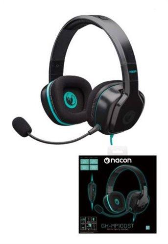 Nacon Gaming Ακουστικά PCGH-100ST PC Black (Xbox One - Playstation 4 - Mac - Κινητά τηλέφωνα)