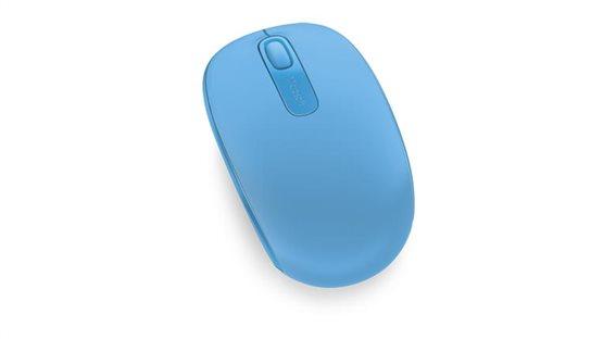 Microsoft Ποντίκι Wireless Mobile 1850 Cyan Blue