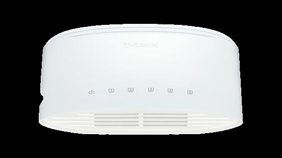 D-Link Gigabit Switch 5-θυρών 10/100/1000Mbps