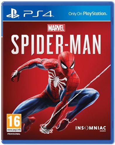 Insomniac Games MARVEL Spider-Man Playstation 4