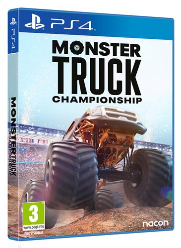 PS4 MONSTER TRUCK CHAMPIONSHIP