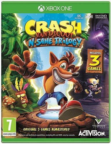 Activision Crash Bandicoot N'sane Trilogy Xbox One Game