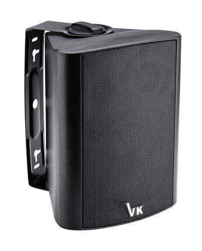 "VOICE KRAFT Ηχείο DS-502-BL 5"" 2 δρόμων bass reflex 30W RMS μαύρο"