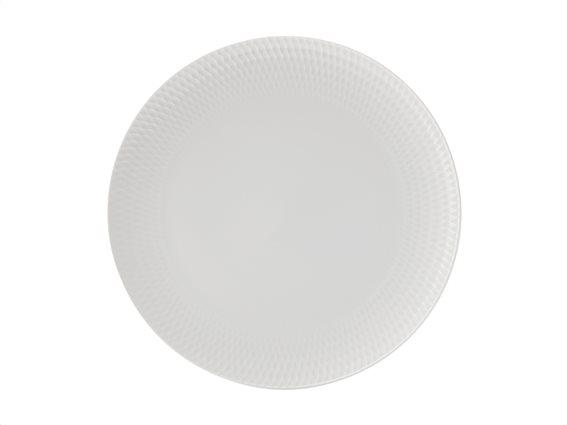 Maxwell & Williams Πιάτο Φαγητού Πορσελάνη 27cm Diamonds DV0022