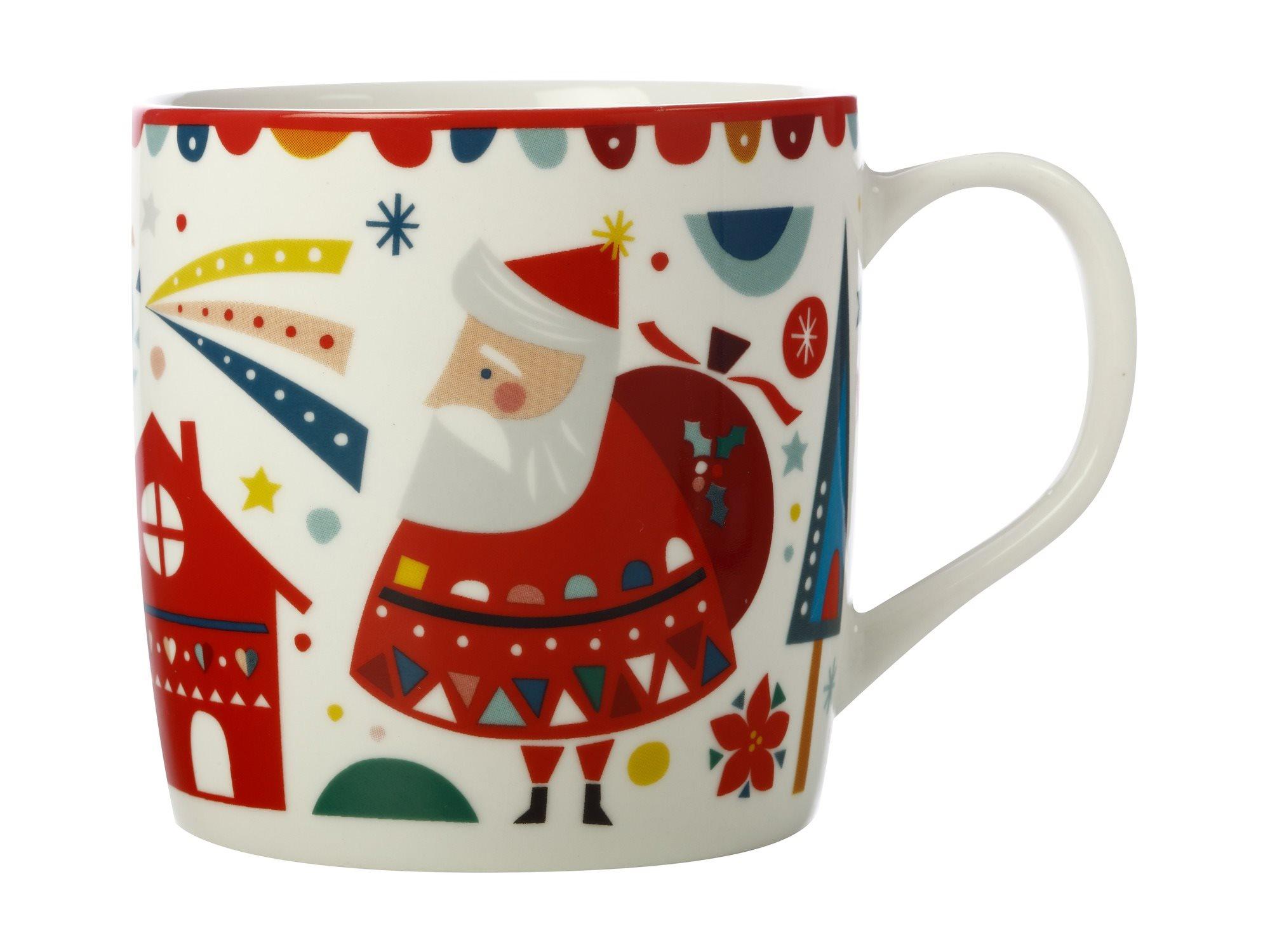 Maxwell & Williams Κούπα Πορσελάνης Festive Friends Άγιος Βασίλης 375ml