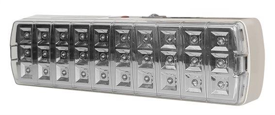 POWERTECH LED φωτιστικό εκτάκτου ανάγκης EMEL-0001 1800mah λευκό
