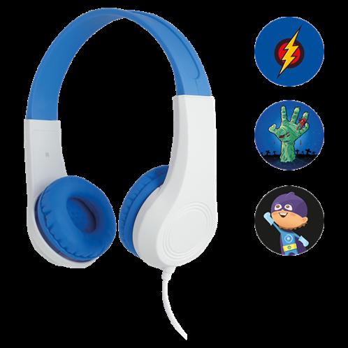 Sencor Παιδικά Ακουστικά Κεφαλής Μπλε SEP 255BL