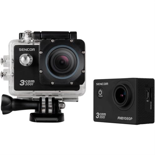 Sencor Κάμερα Δράσης 3CAM 2001 Μαύρο