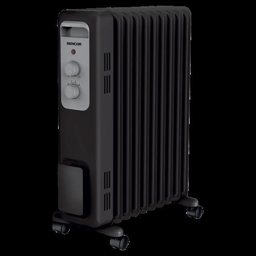 Sencor Ηλεκτρικό Καλοριφέρ Λαδιού 9 Φέτες Μαύρο SOH 3309BK