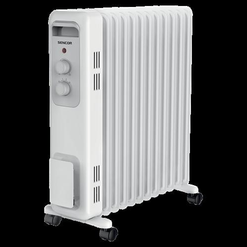 Sencor Ηλεκτρικό Καλοριφέρ Λαδιού 11 Φέτες SOH 3211WH Λευκό