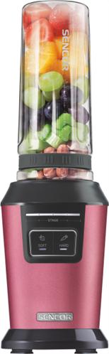 Sencor Συσκευή Smoothie Με Ειδικό Καπάκι Vacuum Metallic Series SBL 7174RD Κόκκινο