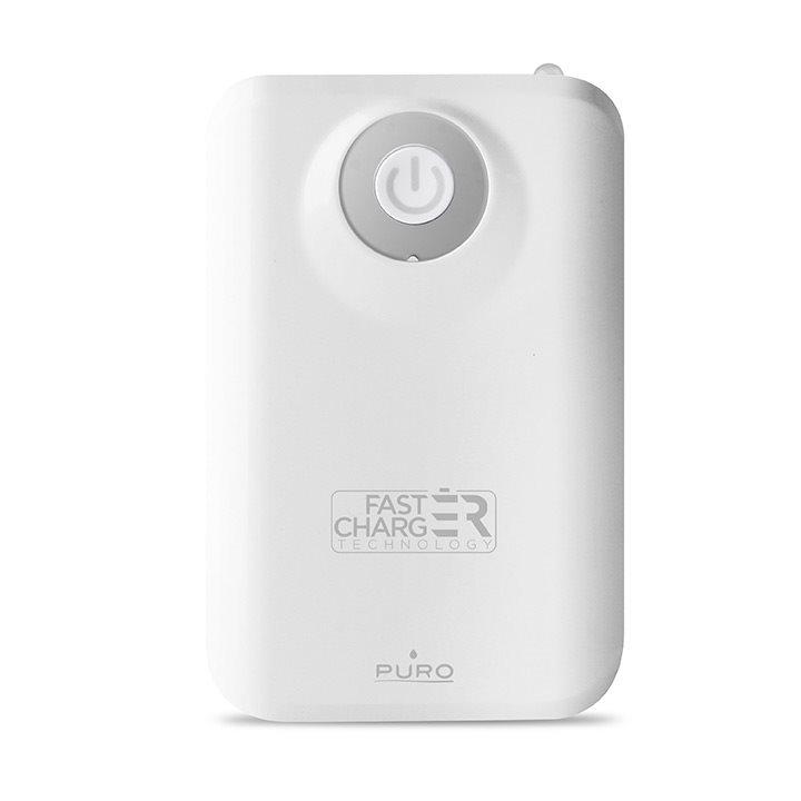 Powerbank Puro 9000mAh - άσπρο