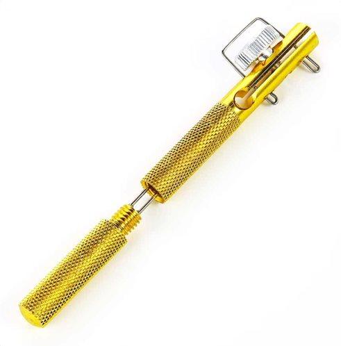 POWERTECH εργαλείο πλεξίματος γάντζου ψαρέματος FISH-0015 χρυσό