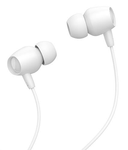 CELEBRAT Earphones Fly 1 με μικρόφωνο 10mm 3.5mm 1.2m λευκά