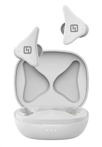 HIFUTURE earphones FlyAir true wireless με θήκη φόρτισης λευκά