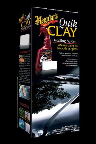 Meguiar's Quik Clay Starter Kit  G1116EU