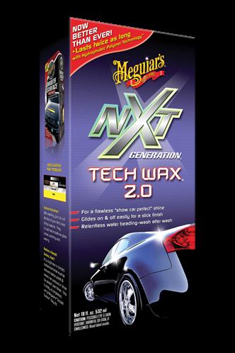 Meguiar's Υγρό κερί με πολυμερή NXT Generation® Tech Wax® 2.0 532 ml G12718