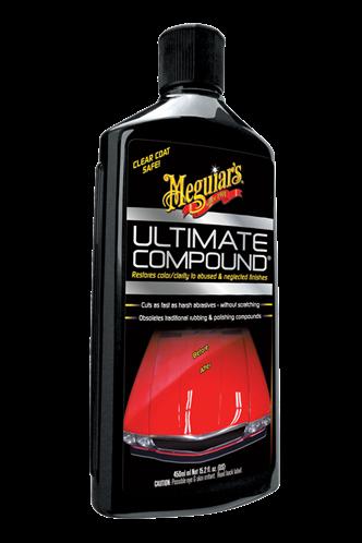 Meguiar's Ισχυρή Χονδρή Αλοιφή Αφαίρεσης Ατελειών & Επαναφοράς Χρώματος Ultimate Compound 450ml G17216