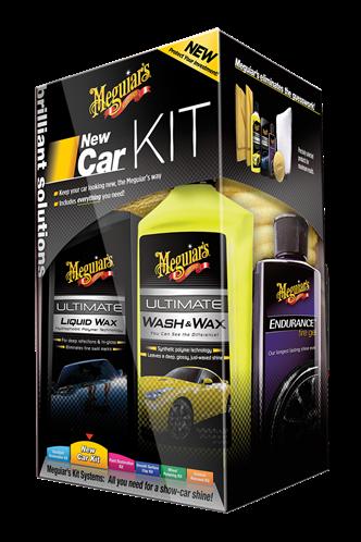 Meguiar's Brilliant Solutions New Car Kit  G3200