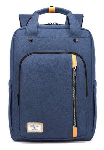ARCTIC HUNTER τσάντα πλάτης GB00363-BL με θήκη laptop αδιάβροχη μπλε