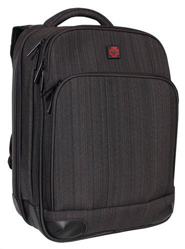 "Swissbrand Σακίδιο πλάτης Gleather 44x33x17 cm με θέση για laptop 15"""