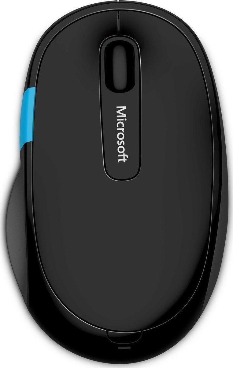 Micosoft Ασύρματο Ποντίκι Sculpt Comfort Μαύρο