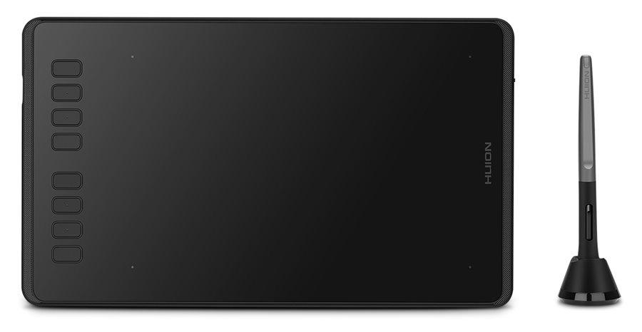 "HUION pen tablet H950P 8.7 x 5.4"" battery-free pen 8 πλήκτρα μαύρο"