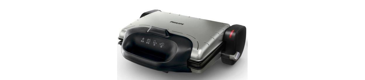 Philips Τοστιέρα - ψηστιέρα HD4467/90