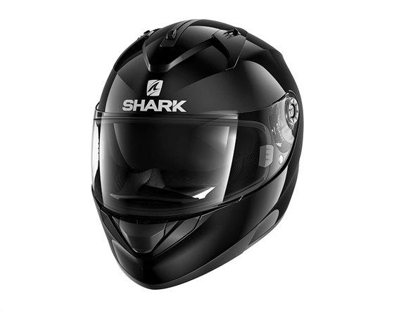 Shark Κράνος Ridill Blank Μαύρο Large