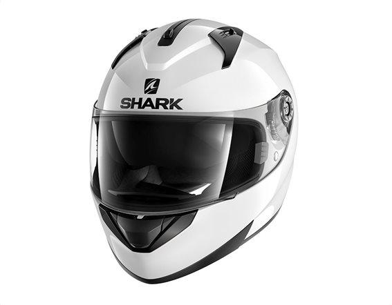 Shark Κράνος Ridill Blank Λευκό Large