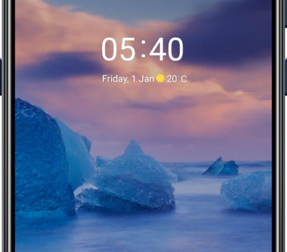 Nokia Smartphone 5.4 4/64GB Dual Sim Blue