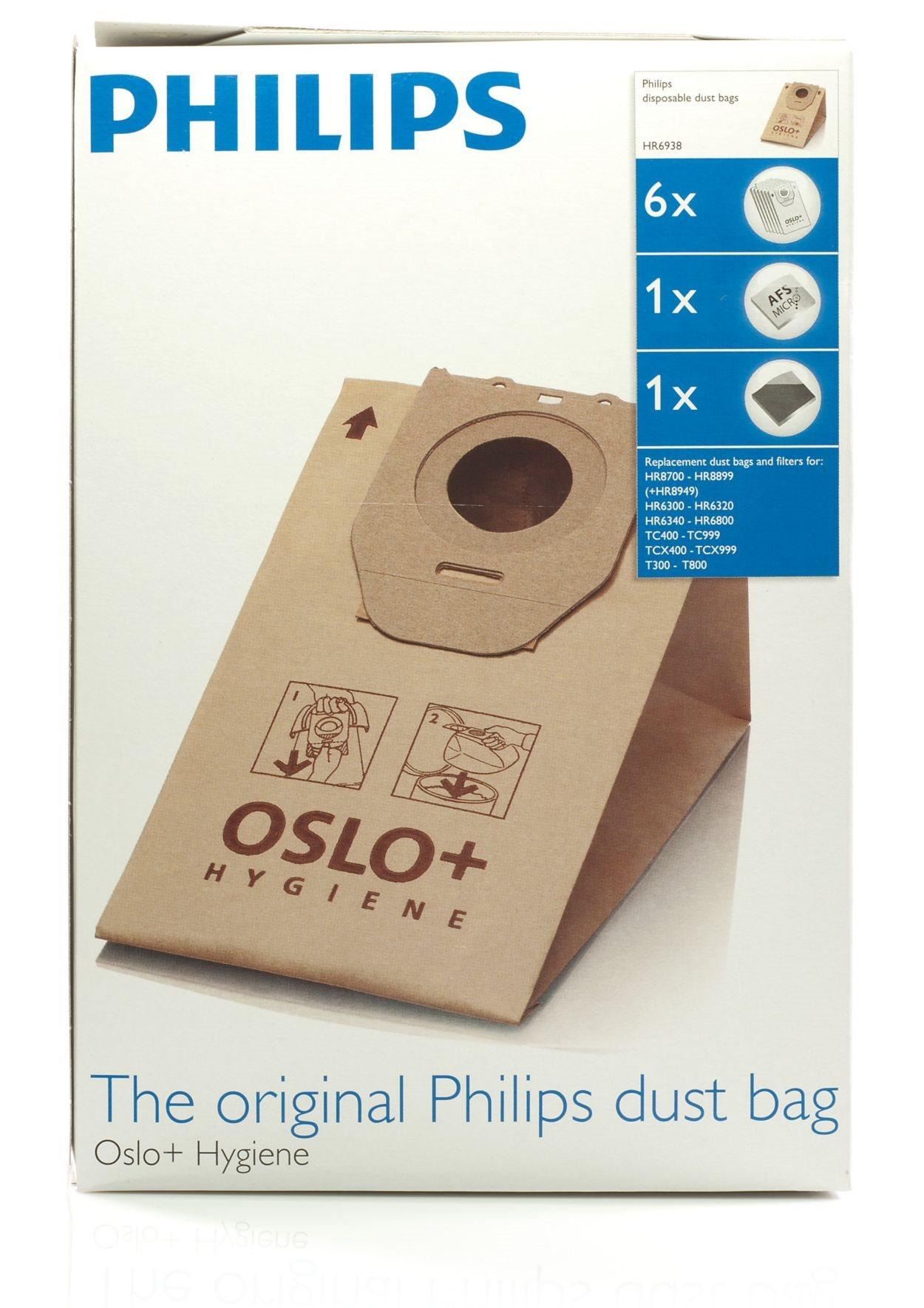 Philips σακούλες σκούπας HR6938/10