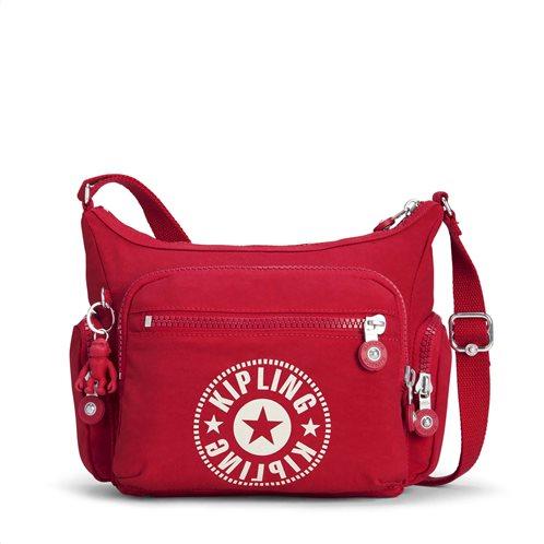 Kipling Τσάντα Ώμου Gabbie S Lively Red