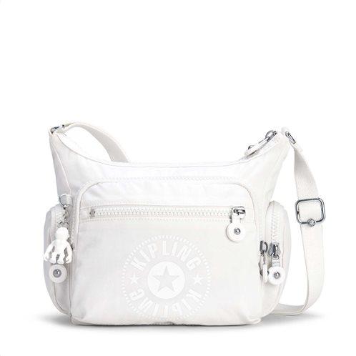 Kipling Τσάντα Ώμου Gabbie S Lively White