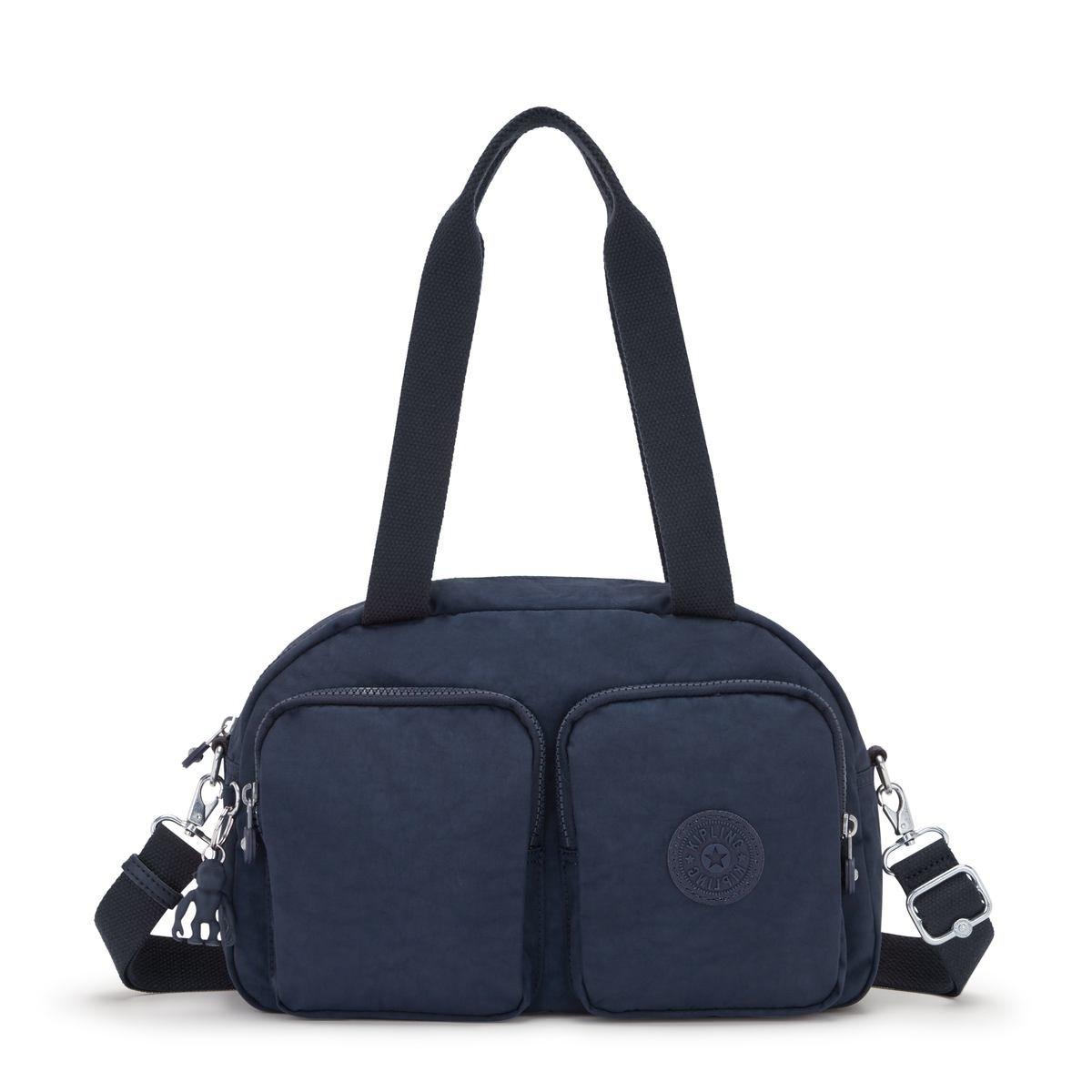 Kipling Τσάντα Ώμου Cool Defea 33x22x12.5cm Blue
