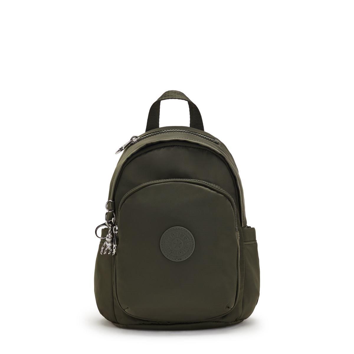 Kipling τσάντα πλάτης 29.5x22x18cm Delia Hunter Green