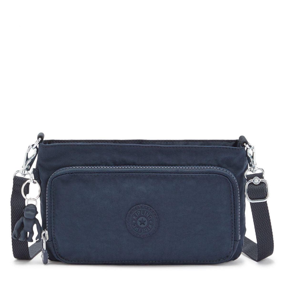 Kipling Τσαντάκι  Ωμου Crossbody 24x14.5x4.5cm Myrte Blue