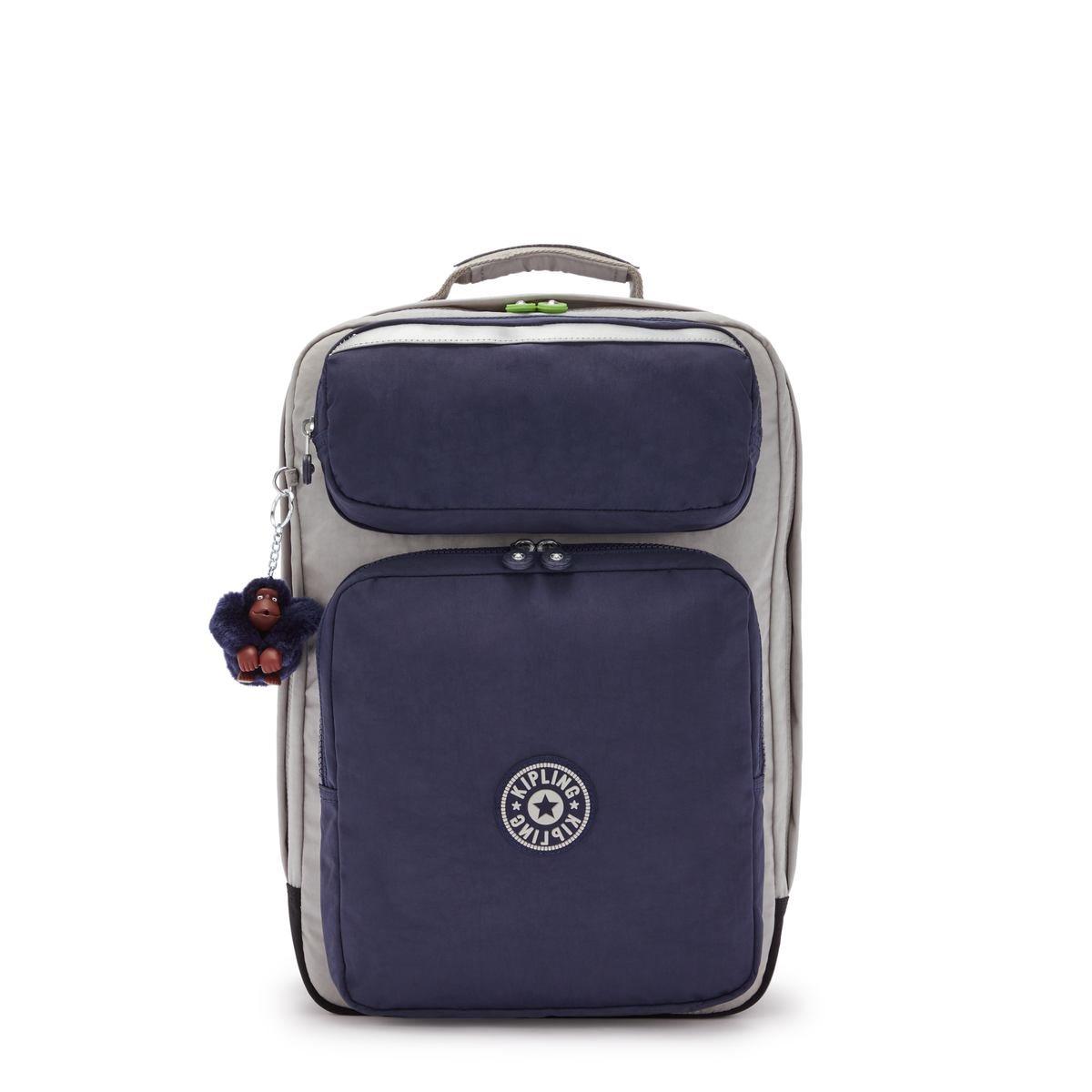 Kipling τσάντα πλάτης θέση PC 15   43x29x24cm Scotty Playful Grey