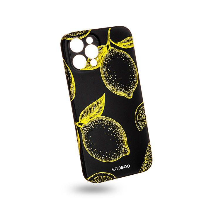 EGOBOO Case Mat TPU Lemons Fluo (iPhone 12 Pro Max)