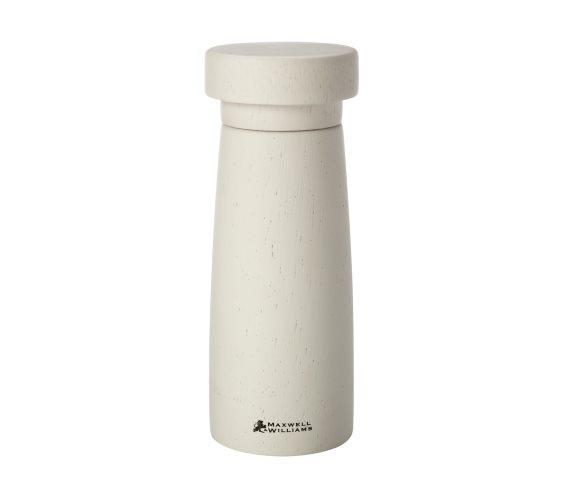 Maxwell & Williams Μύλος Πιπεριού/Αλατιού Ξύλινος-Λευκός Stockholm 17cm