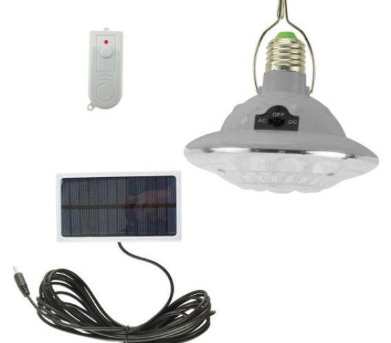 Telco Ηλιακή Φωτιστικό - Λάμπα με Τηλεχειριστήριο Διπλής Χρήσης I-SOLAR JL-678-8 SP021 02.104