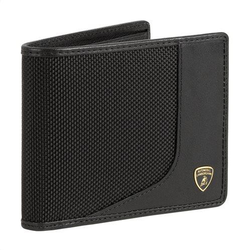 Lambprghini πορτοφόλι 11x9x1cm σειρά Wired Black