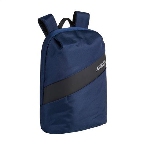 Lamborghini τσάντα πλάτης 27x45x15cm Galleria Blue