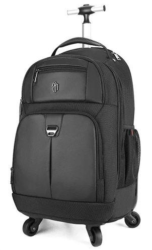 ARCTIC HUNTER τσάντα πλάτης LG1500165-BK τροχήλατη θήκη laptop μαύρη