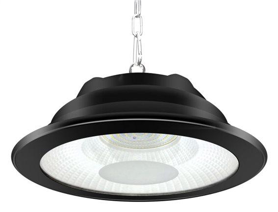 LIPER LED προβολέας LPHB-150D01 150W 14500lmn 6500K IP65 Φ34 μαύρος