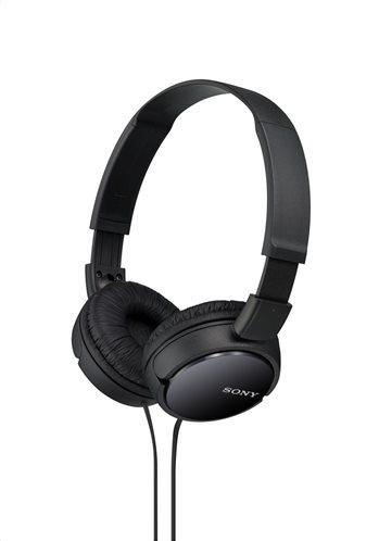 Sony MDR-ZX110B On Ear Ακουστικά Black