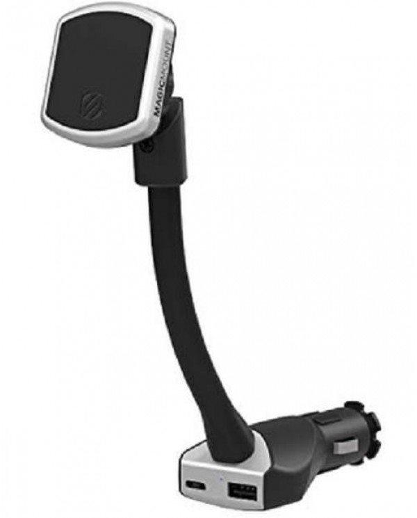 Scosche MP12VPD2-XTSP Μαγνητική Βάση Φόρτισης με Θύρες USB